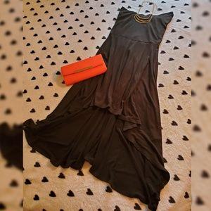Classy Black Strapless Dress size S